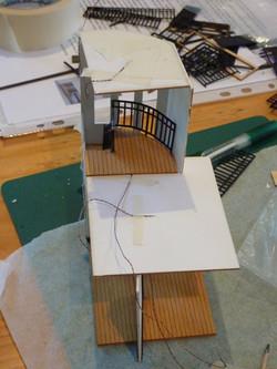 48. landing balustrade completed.JPG
