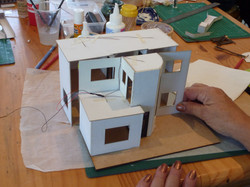 74. placement of the house on the base boards.JPG