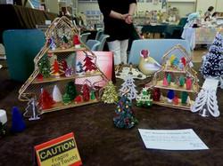 Rosemary's Christmas tree collection.JPG