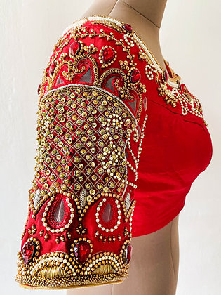 Red Crown Blouse