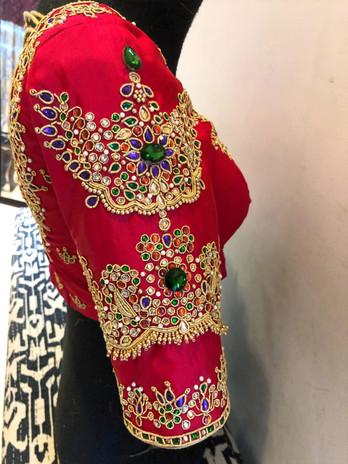 Multi Colour Jewel sleeve