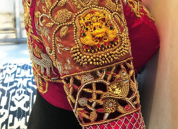 Lakshmi pendant Doli blouse