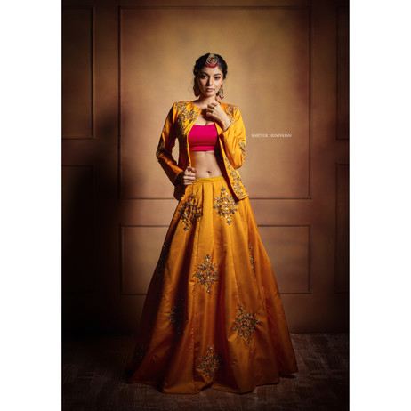 Yellow Jacket Lehenga
