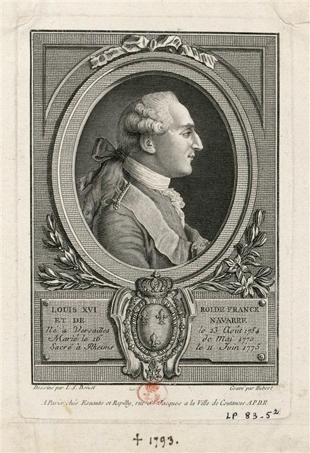 Louis XVI, Roi de France
