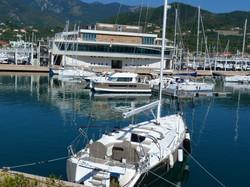 Blick in den Yachthafen