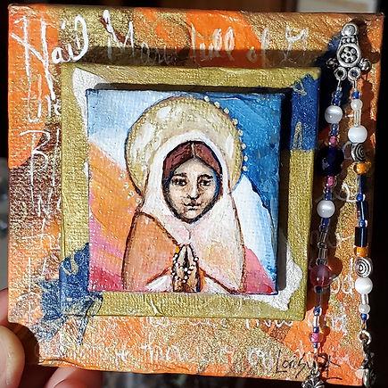 Mini Prayer Icon
