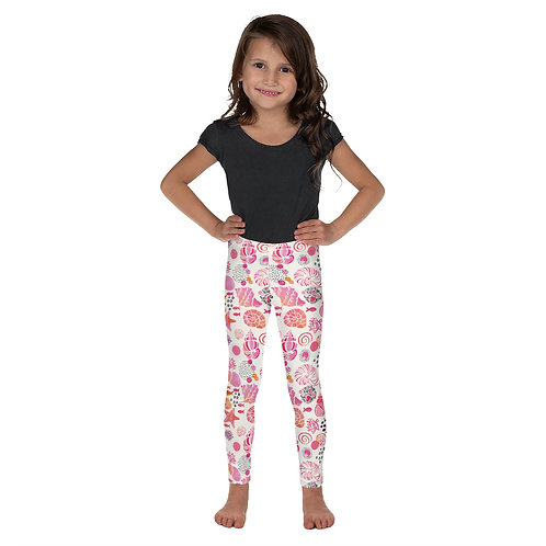 """Shell Shocked - Pinky"" Kid's Leggings"