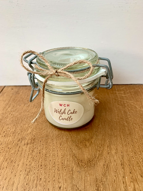 Homemade Welsh Cake Candle 100ml