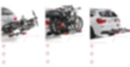 Uebler kerékpártartó rendszerek - német prémium minőség, egyedi vonóhorgraszerelhető kerékpártartó. X-család (Uebler X21 és X31) P-család (Uebler P22 és P32) F-család (Ubeler F23 és Uebler F33 illetve Uebler F43)
