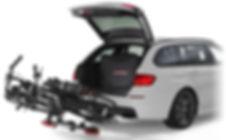 Uebler kerékpártartó rendszerek - német prémium minőség, egyedi vonóhorgraszerelhető kerékpártartó