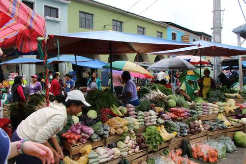 Food Market in Quito