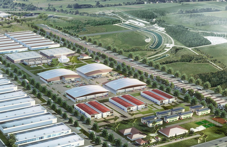 Industrial park projects