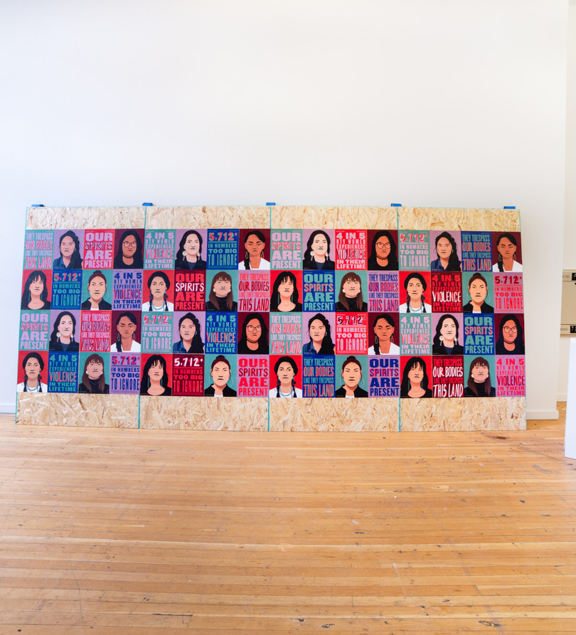 """""""Defend the Sacred"""" Instalation (Full Gallery)"""