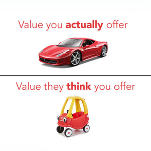 Are You the Ferrari or the Red Toy Car?