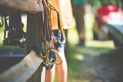 closeup-shot-of-rock-climbing-gear-with-