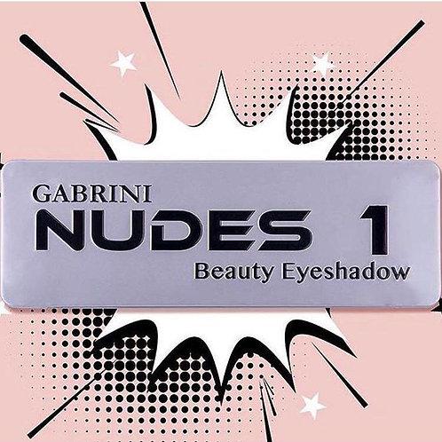 GABRINI Nudes 1 Beauty Eyeshadow 22g