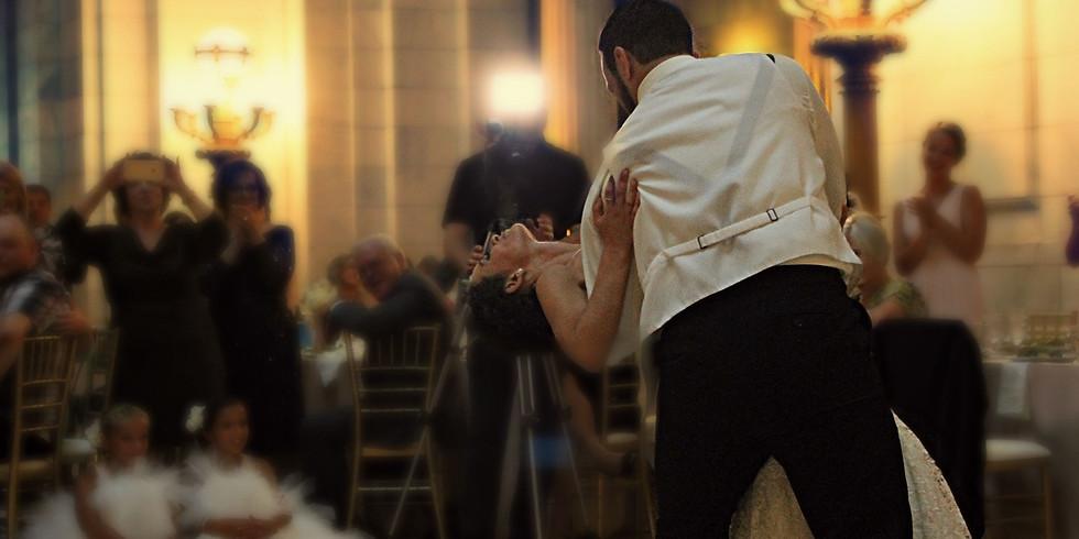 Bröllopsdans lektion två av tre tillfällen