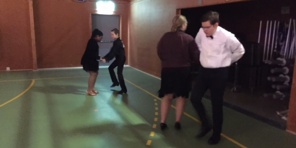 Artistic ballroom och pardans barn/ungdom
