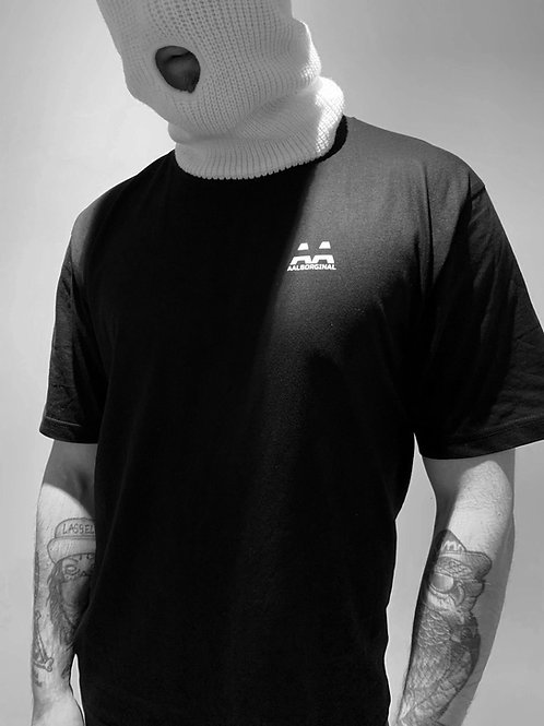 AALBORGINAL SIMPLE BLACK TEE