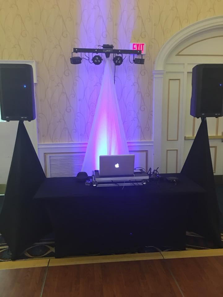 MI Event DJs setup