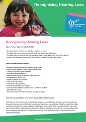 Deaf Children Australa Information