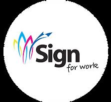 Sign For Work Logo