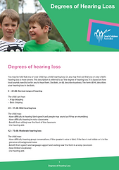 Deaf Children Australa Information