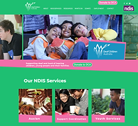 Deaf Children Australia website