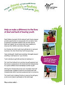 First page of Deaf Children Australia's Autumn Appeal