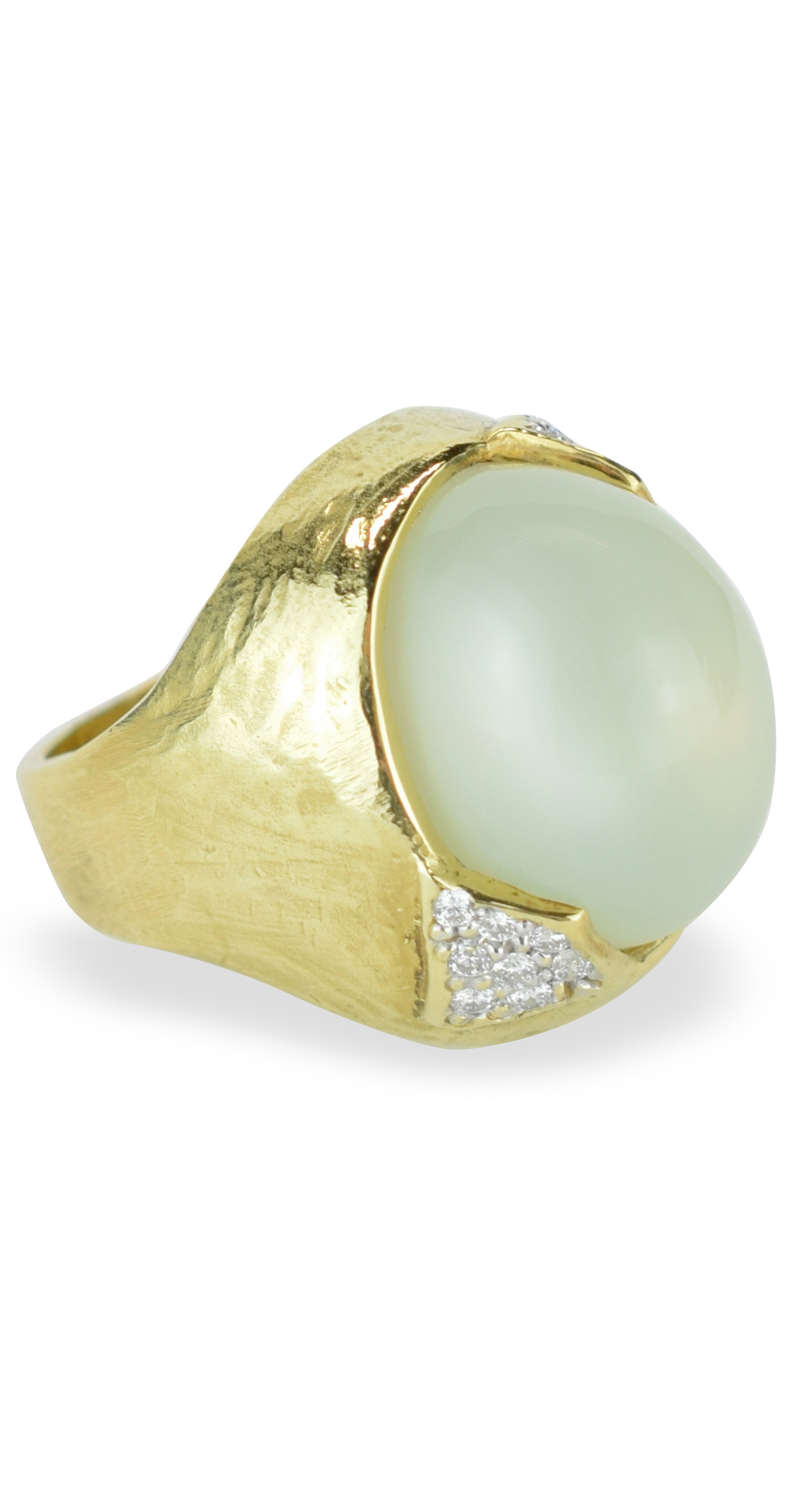 chalcedony ring side