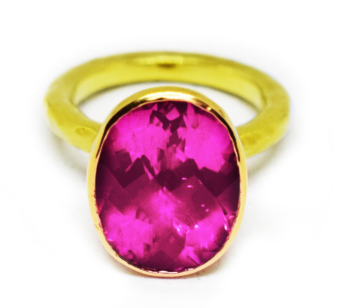 Denny Pink Ring