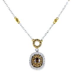 choc diamond necklace
