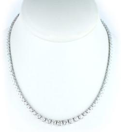 diamond necklace wt