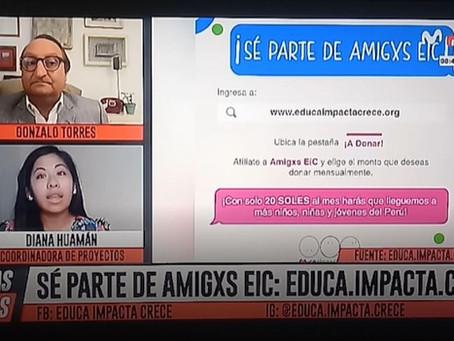 "¡""AMIGXS EIC"" en Plus TV!"