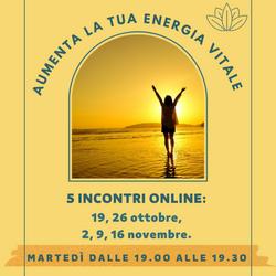 Aumenta la tua Energia Vitale web
