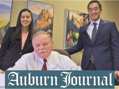 In the News! Auburn Journal - Sunday 1/20/19