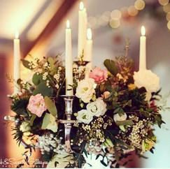Our candelabra's will be making a few ap