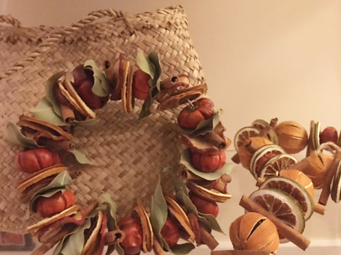 Autumn Spice Wreath