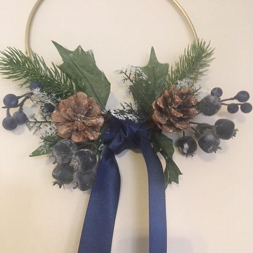 Berries & Pine Hoop