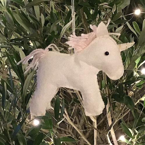 Soft Felt Unicorn