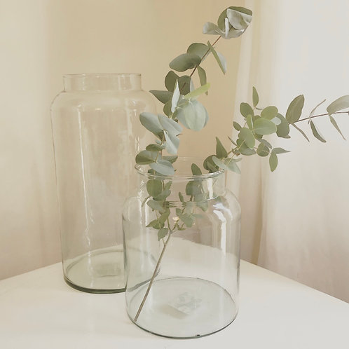 Glass Medicine Style Vase
