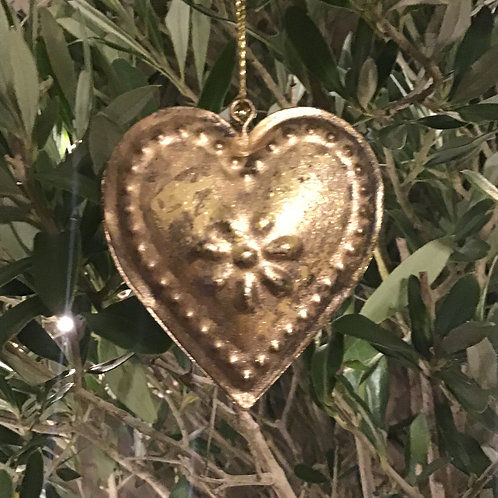 Antique Heart Decoration
