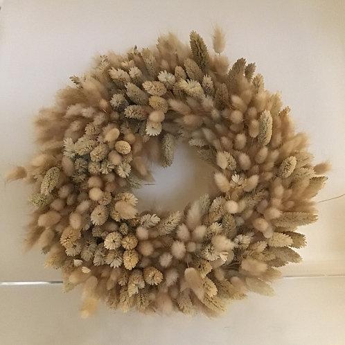 Luxury Bunny Tail Wreath