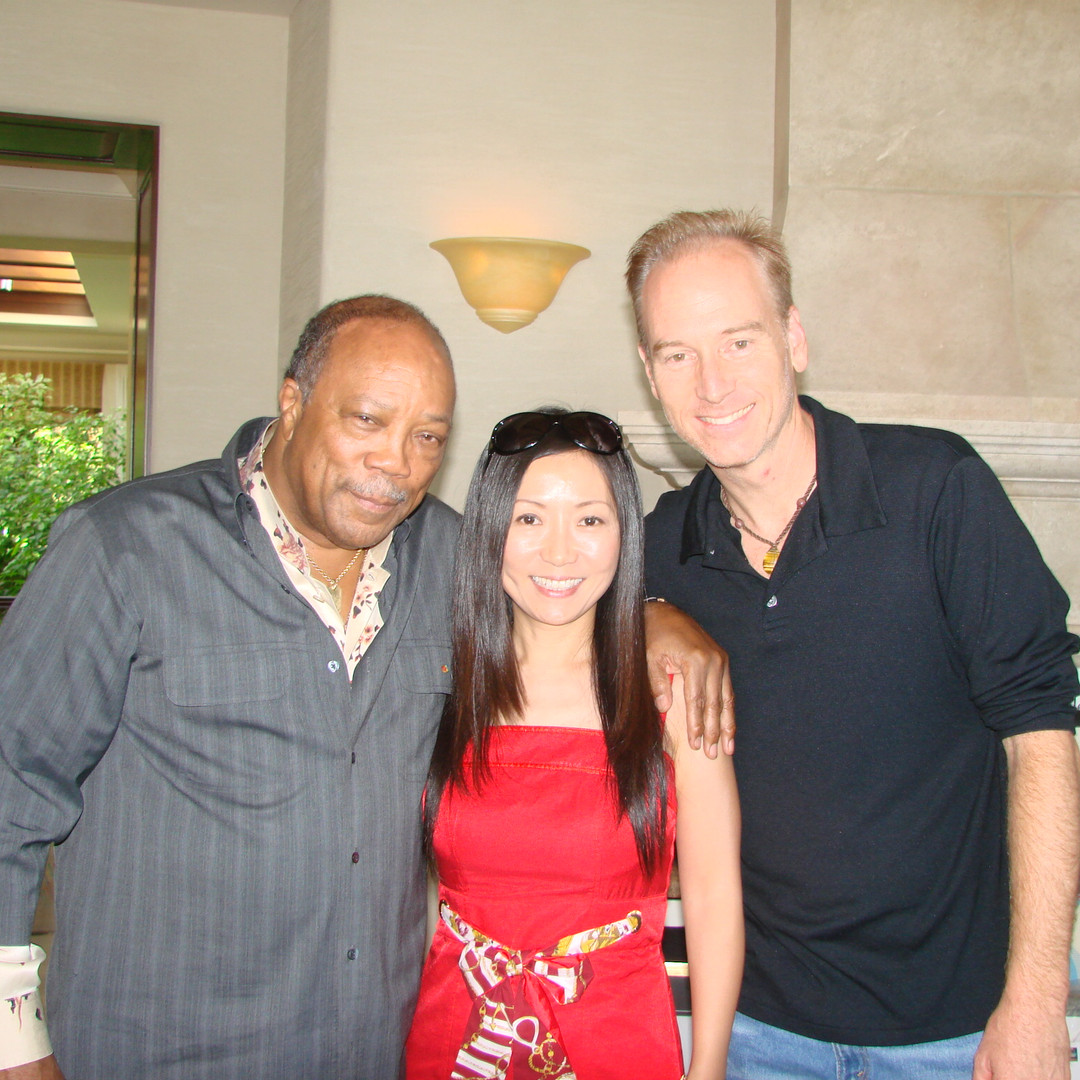 Quincy Jones, Cheng Lin & KC
