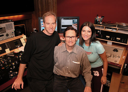 KC, Bernie Grundman & Laura Pausini