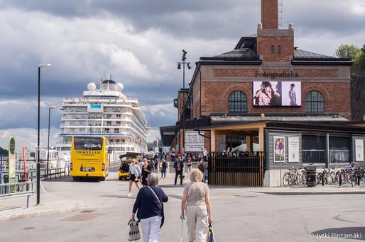 Viikonloppuretki Tukholmaan elokuussa 2016. Kävimme mm. Fotografiska-valokuvamuseossa. Kuva: Jyrki Rintamäki