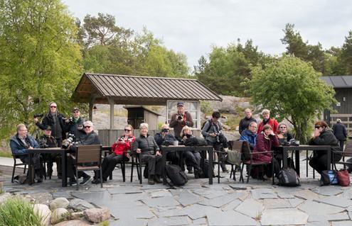 Viikonloppuretkellä Örön linnakesaarella kesäkuussa 2017 - kuva Tuija Kolari.