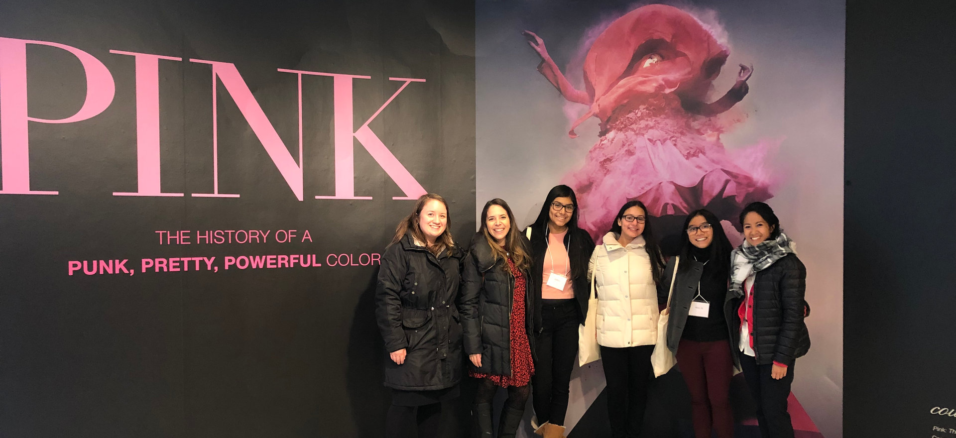Field trip to the Fashion Institute of Technology