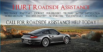 HURT Roadside Assistance Towing Service In Atlanta CARHELPNOW - Porsche roadside assistance