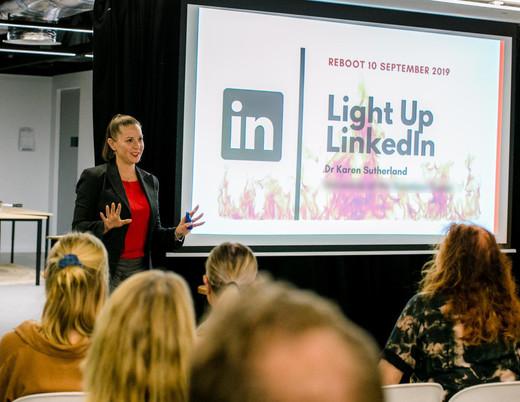 Dr Karen Sutherland LinkedIn Training